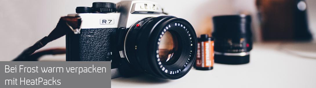 Fotoausrüstung, Farben oder andere Materialie