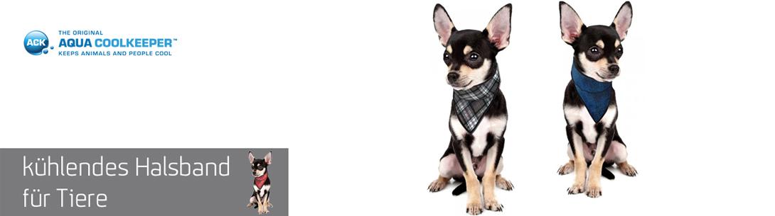 Kühlende Halstücher für Hunde von der Marke A
