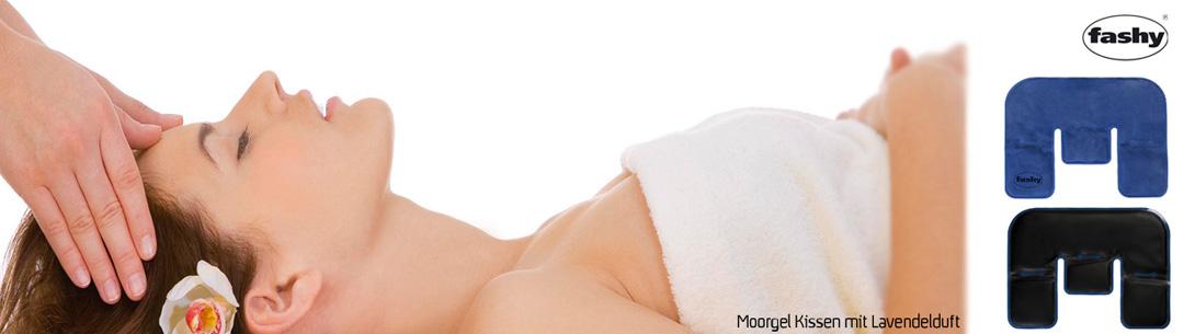Moorgel Kissen mit Lavendelduft sorgt für ein