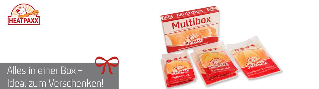Multibox mit 5 Wärmern für den ganzen Körper