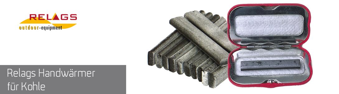 Handwärmer von Relags mit Kohlestäbchen