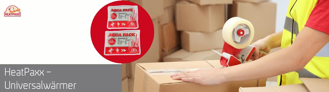 Verschicken Sie sicher und warm mit HeatPack