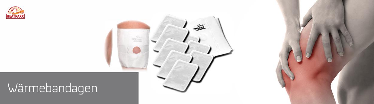 Wärmebandagen für Ihr Knie mit 8 Wärmern