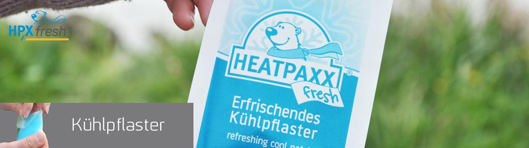 HPXfresh Kühlpflaster mit Menthol