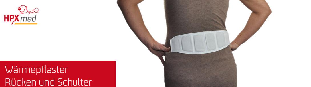 2 Wärmepflaster für Ihren Rücken/Schulter